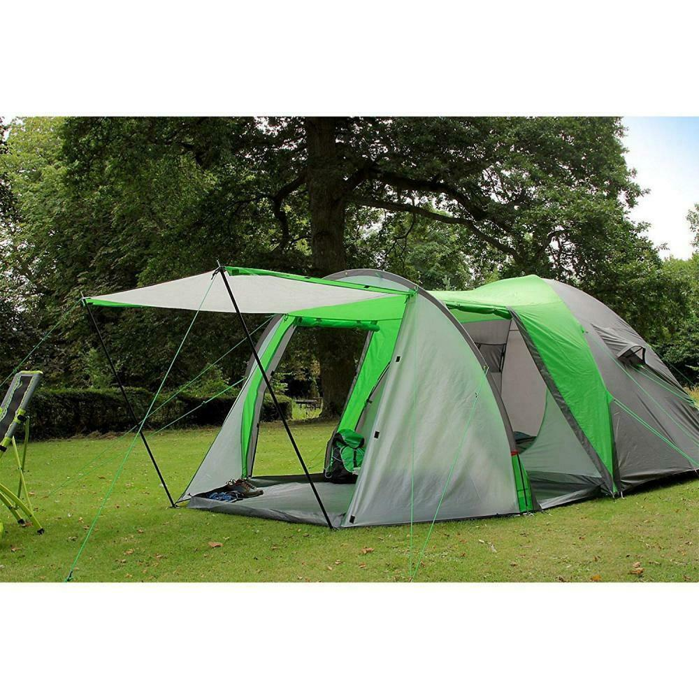 Coleman Tent Cortes 5 Plus, 5 man Dome tent with porch, 5 person Family...