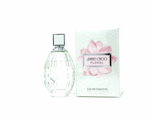 Jimmy Choo Floral Eau de Toilette Spray 90ml pour Dames Emballage D'Origine