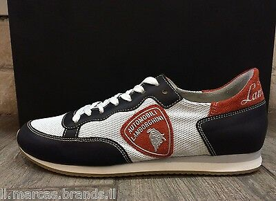 Automobili Lamborghini Mens Shoes Fashion Sneakers Trainers LAM24008 New In Box