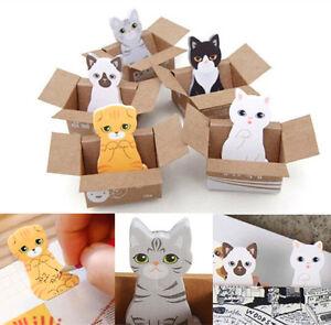 Cute-Mini-Kitty-Cat-House-Sticker-Post-Pad-Bookmark-Mark-Tab-Memo-Sticky-Notes