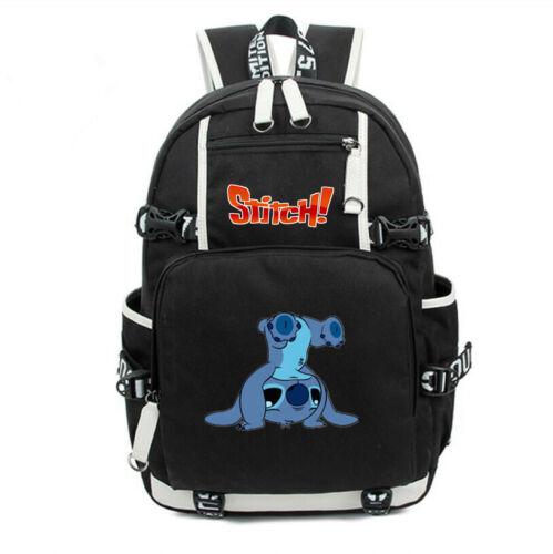 Loli Stitch Backpack School Bag for Teenagers Travel Bag Rucksack Bookbag Cute
