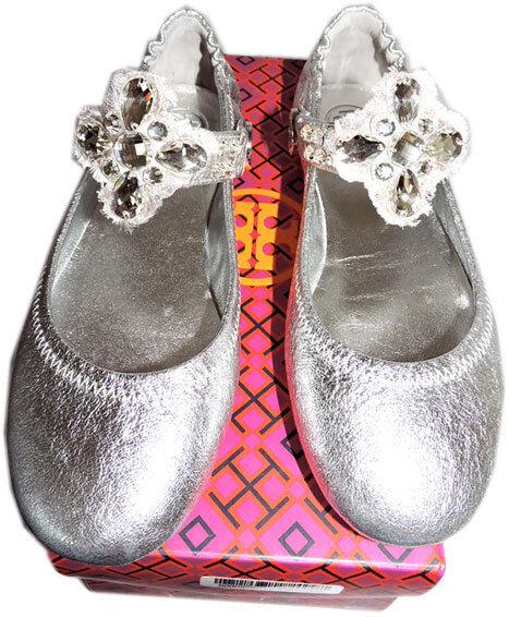 Tory Burch Minnie Reva Ballerina Flats Embellished Congreenible Congreenible Congreenible Strap Ballet 6 62d0a0