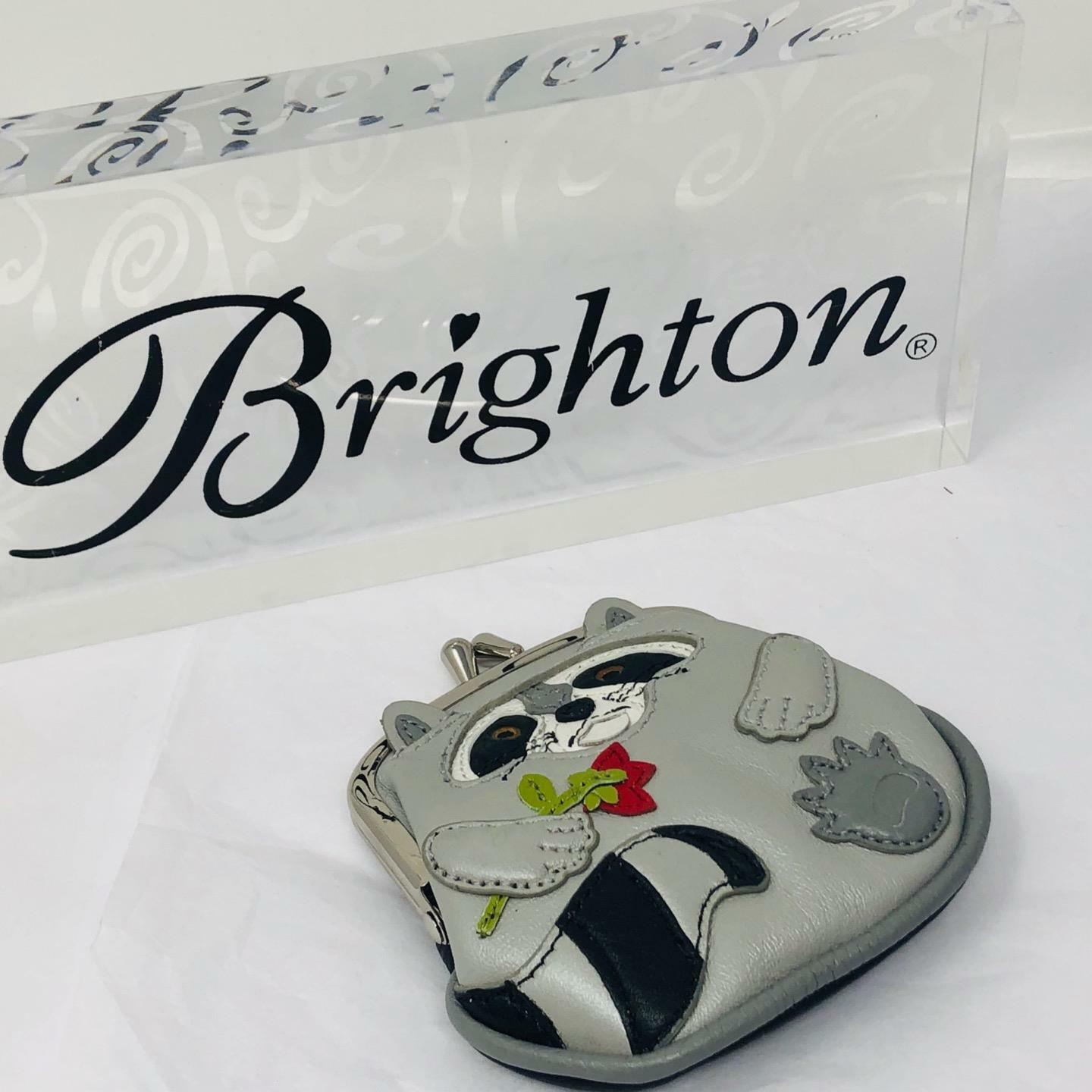 Brighton Roxy Raccoon Menagerie Coin Purse NWOT