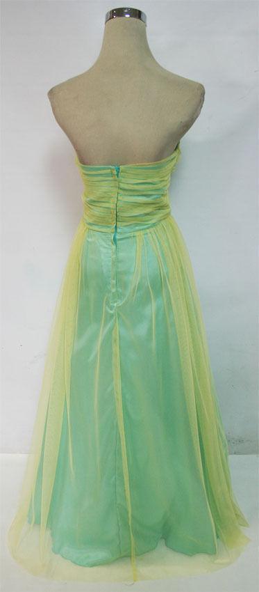 NWT ROBERTA  147 Yellow   Seafoam Seafoam Seafoam Prom Formal Gown 3 6e2807