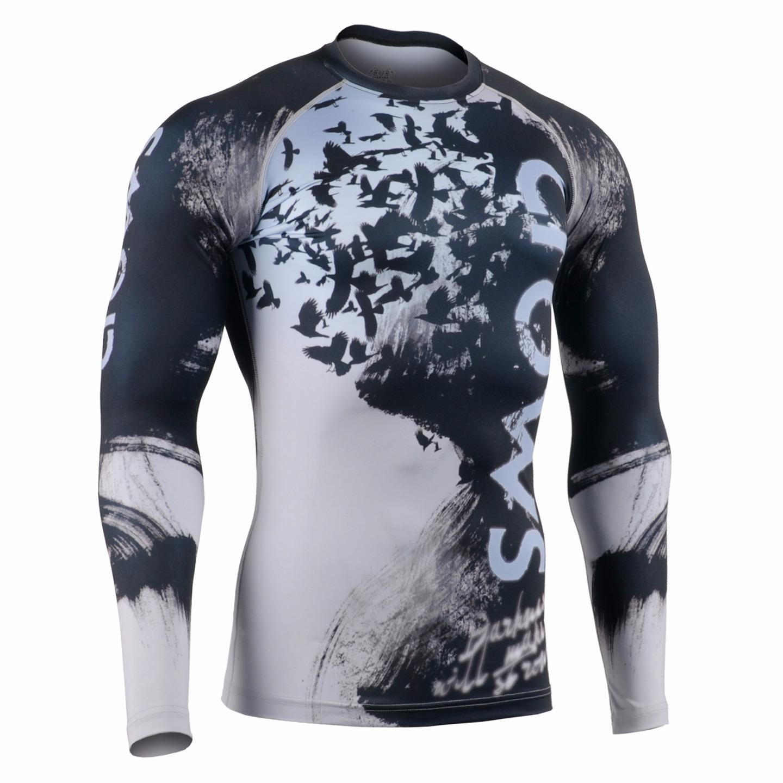 FIXGEAR CFL-80 Compression Base Layer Shirt Sportswear Bodybuilding Workout GYM