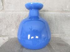 """Old Blue Pottery Flower Vase 6"""""""