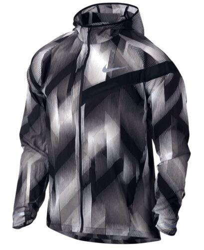 Clair Veste Aop blanc Homme Compressible Noir Impossibly Nike M Course f7Xwx7