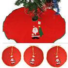Santa Claus Snowman Christmas Tree Skirt Stands Ornaments Xmas Party Decoration