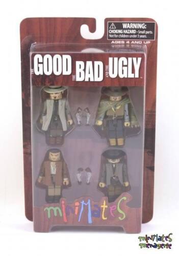 Clint Eastwood Minimates Good Bad /& Ugly Box Set Spaghetti Western