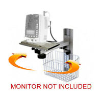 Wall Mount For Mindray Vs-800 Dpm3 Patient Monitor , 3 Freedoms , 13 Inch Rail