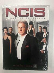ncis enquête spéciales l'intégrale saison 3 Coffret 4 DVD neuf sous blister c27