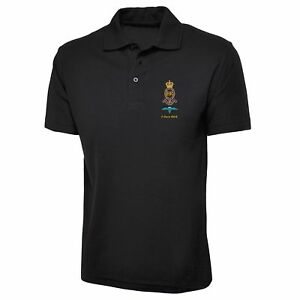 Royal-Horse-Artillery-Polo-Shirt-Royal-Marines-Inspired-Embroidered-Polo-Top