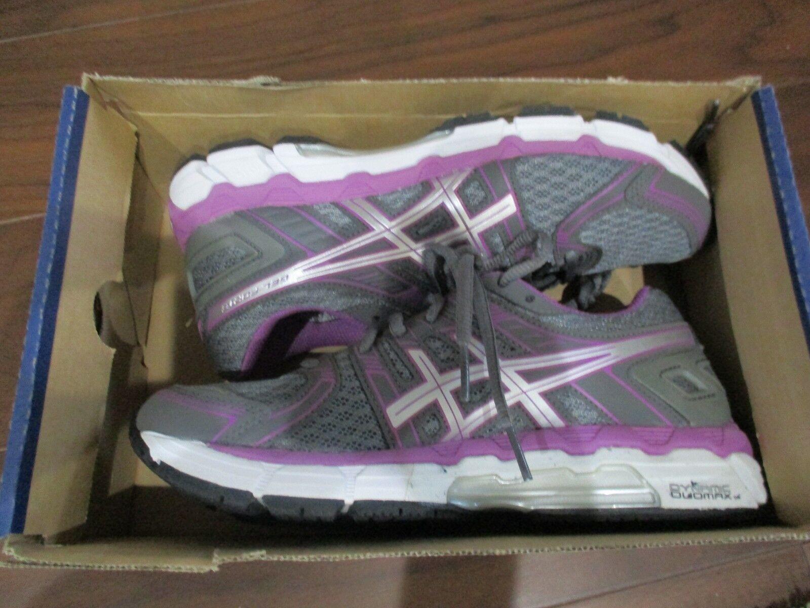 BNIB ASICS GEL Forte Road Running shoes, Women, T359N, Size 6.5, grey purple