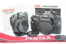 Pentax Program A 35mm SLR Film Camera with SMC Pentax-A 1:1.7 Prime 50mm lens
