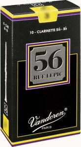 Anche-de-Clarinette-Sib-Vandoren-56-Rue-Lepic-toutes-forces-boite-de-10-anches