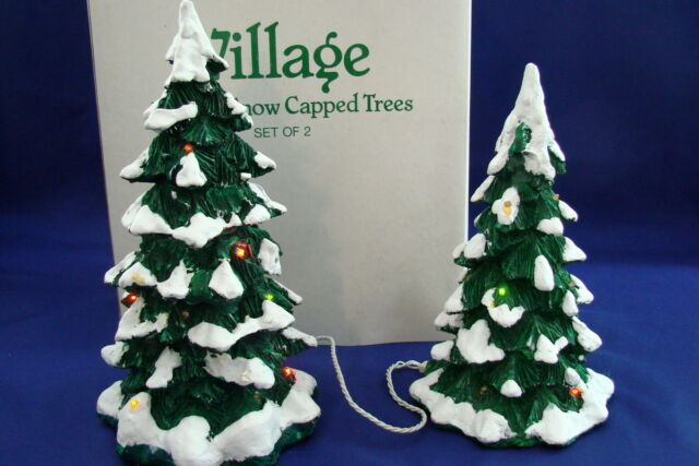 Department 56 Christmas Snow Village Building Light Kit Lot of 2