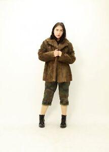 M Fur Size Еха Jacket Clothing Furs 42 Brown Nutria 44 Hw1qxHURn