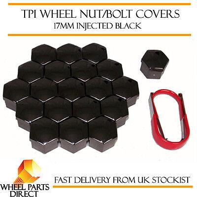 2019 Neuer Stil Tpi Black Wheel Bolt Nut Covers 17mm Nut For Fiat Sedici 06-16 Erfrischung