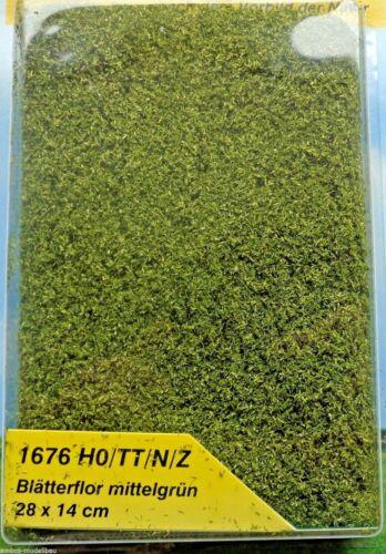 28 x 14 cm 224,23€//m² Heki 1676 Blätterflor mittelgrün Foliage Neu