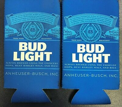 Fits 24-25 oz Bud Light NCAA Bracket Beer Koozie Extra Ounce Cans NEW