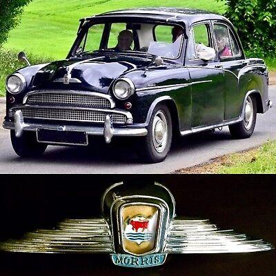 Classic Morris 1000 côté Bonett badge