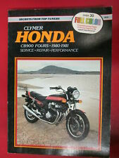 Clymer Honda Cb650 Fours 1979 1982 Service Repair Maintenance Manual M336 For Sale Online Ebay