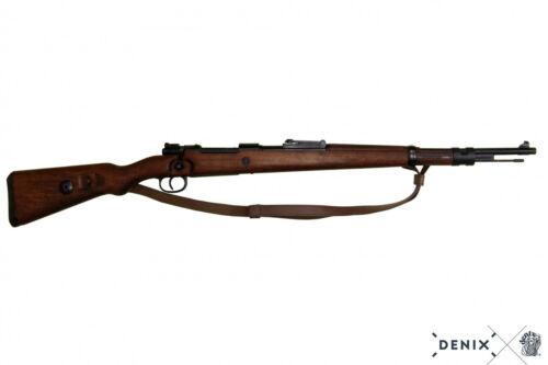 Carbine Mauser Kar 98 reenactor in legno e metallo 110 cm Germania 1935 2°guerra