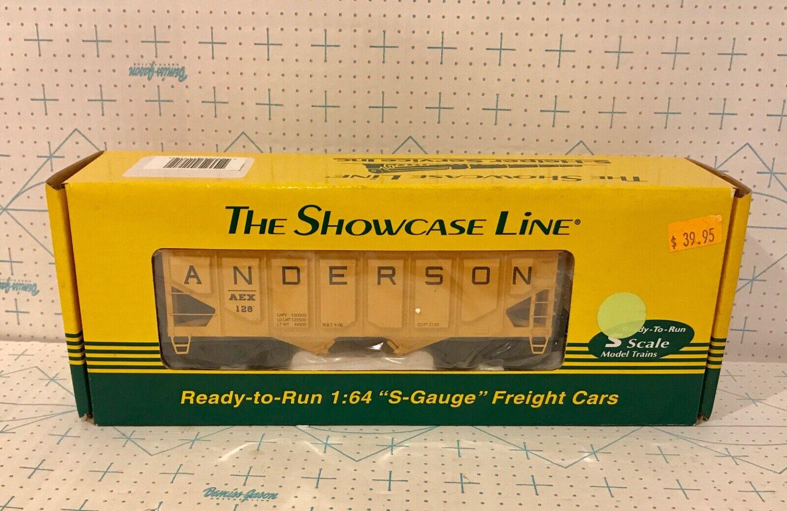 S-Helper Service The Showcase Line S Scale Anderson Hopper NIB
