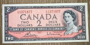 2-1954-Canada-Unc-Not-Devils-Face