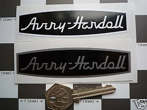 Details about AVERY HARDOLL Classic Gas Pump STICKERS 4