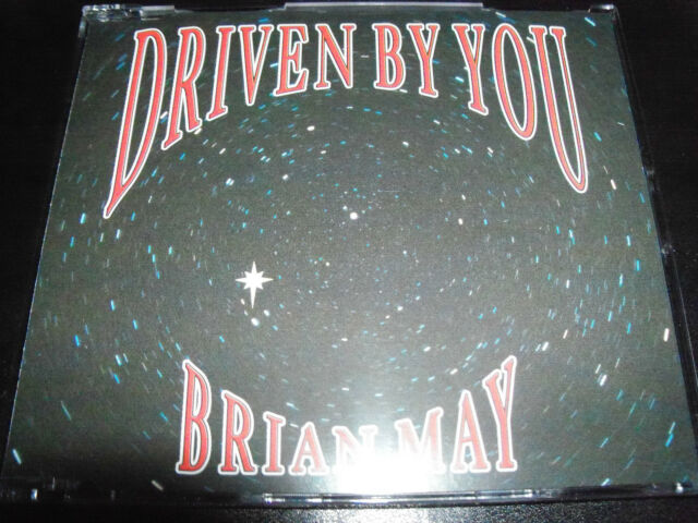 Brian May ( Queen ) Driven By You UK 3 Track CD Single