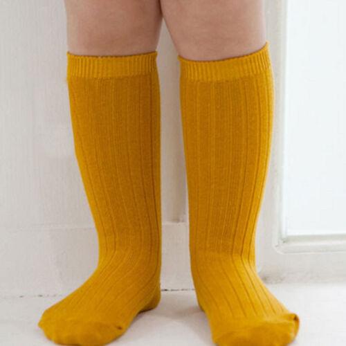 Comfort Cotton Baby Kids Toddlers Girls Knee High Socks Tights Leg Stocking 0-4Y
