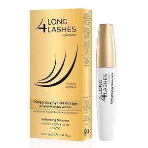 969b457ce23 2 X Long 4 Lashes Eyelash Enhancing Growth Black Mascara With Bioton ...