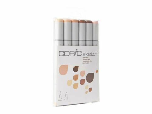 Copic Sketch marcador Set 6 Plumas-los tonos de piel