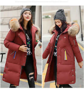in pelliccia donna in Parka con invernale cappuccio volpe Capispalla di volpe da pelliccia di 8wxqOxHBE