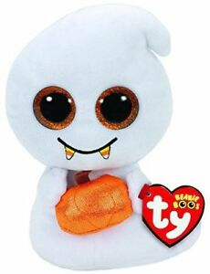 TY Beanie Babies Boos Scream Ghost Plush Soft Toy With Tags 708cbc0a0960
