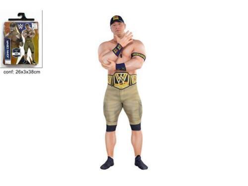 COSTUME ADULTO JOHN CENA Carvevale Travestimento Wrestling Sport Lotta 749275