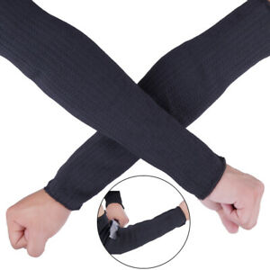 1-Paar-Stahldraht-Schnittschutz-Armmanschette-SchutzarmbandTPI-TG