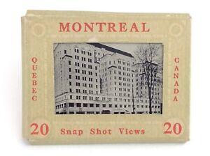 Montreal-Quebec-Canada-Snapshot-Views-9-Nine-Printed-Photographs-H830