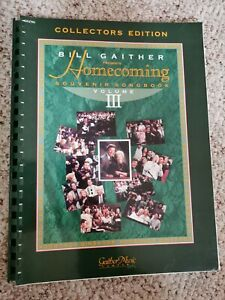 Bill-Gaither-Homecoming-repertoire-Volume-3-Souvenir-Collectors-Edition-Music-Book