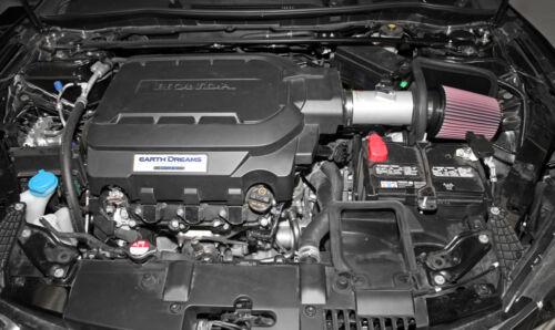 Acura TLX  3.5 2015 K/&N 69-1212TS Typhoon Intake For Honda Accord 3.5 2013-17
