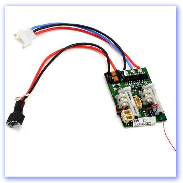 Spektrum AR6400 LBL Receiver, Servos and ESC