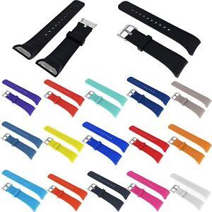 Fuer-Samsung-Gear-Fit2-Pro-SM-R365-Uhr-Silikon-Ersatz-Armband-Uhrenarmband-Strap