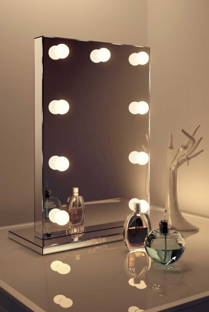 Diamond X Mirror Finish Hollywood Makeup Daylight Dimmable Led K219cw