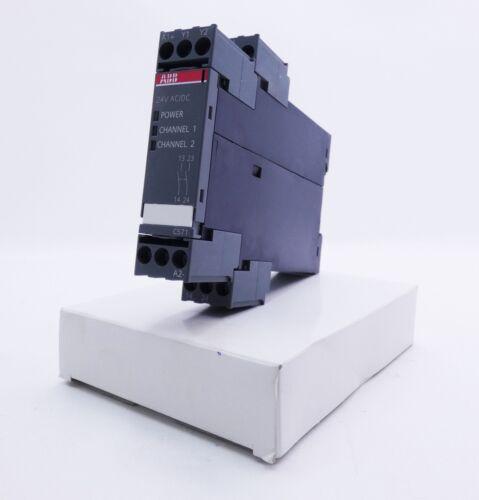 unused//OVP ABB 1SAR501020R0001 2S 24V AC//DC E-Stand:04 Sicherheitsschaltgerät