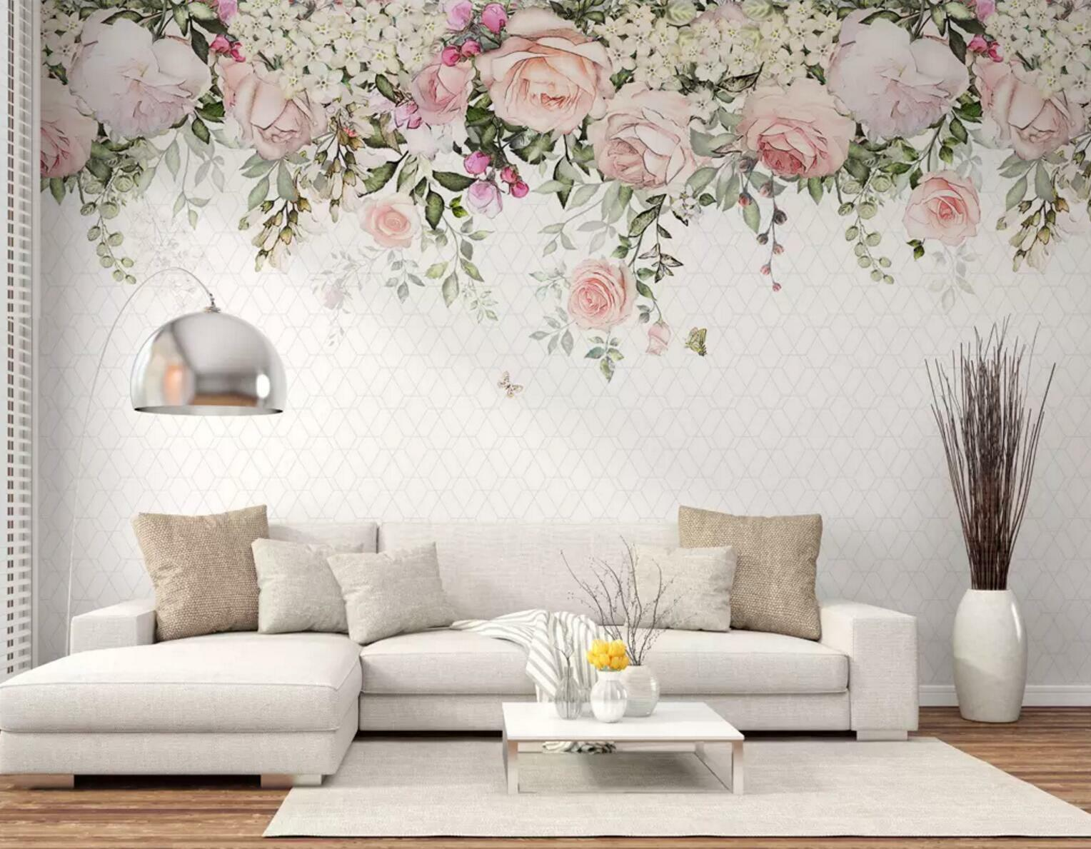 3D Flower Grün Vine 48 Wall Paper Exclusive MXY Wallpaper Mural Decal Indoor AJ