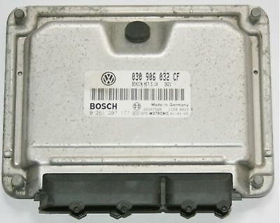 VW POLO 6N2 2000-2002 1.4 AUD BOSCH ENGINE CONTROL UNIT ECU 030 906 032 CM