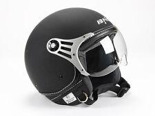 Jethelm, Motorradhelm,  Rollerhelm Matt Schwarz   XS, S, M, L,  XL  Neu