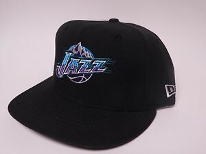 New Era UTAH JAZZ Fitted 59FIFTY Flat Bill NBA Cap Hat -JAZZ  60cf821df19