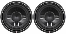 "2) Rockford Fosgate P3SD4-12 P3SD412 12"" 1600W Shallow Mount Car Subwoofers Subs"